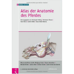 Atlas of the Anatomy of the Horse: 7th, Completely Revised Edition