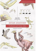 Avian Anatomy: Textbook and Colour Atlas, 2nd Edition