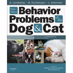 Behavior Problems of the Dog and Cat, 3rd Edition