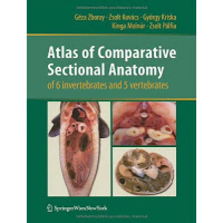 Atlas Of Comparative Sectional Anatomy Of 6 Invertebrates And 5