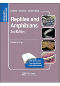 Reptiles and Amphibians: Self-Assessment Color Review, 2nd Edition