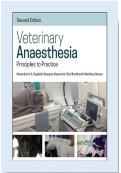 Veterinary Anaesthesia: Principles to Practice